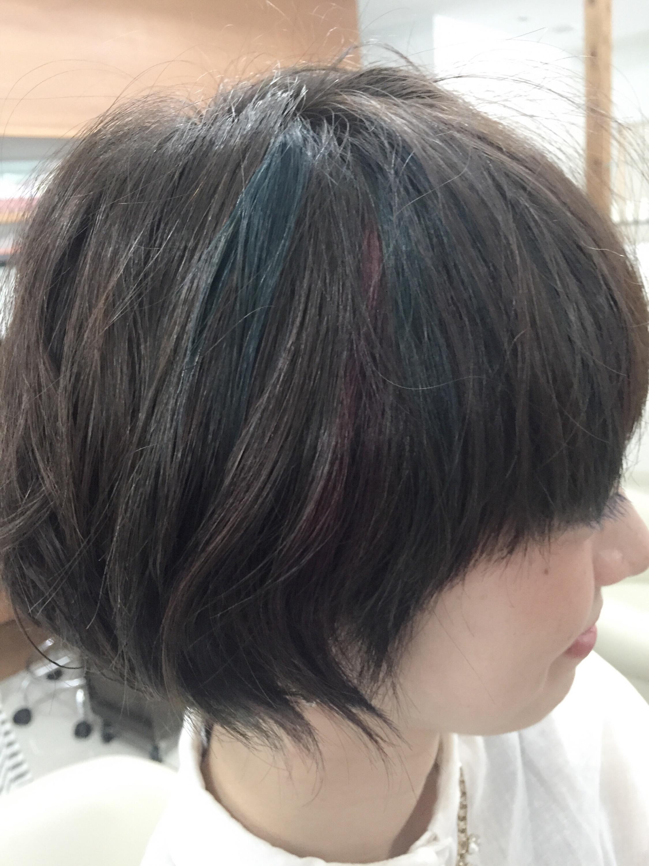 なんかポイントカラー流行ってる 美容室ジールサロン 店長 藤田 和彦